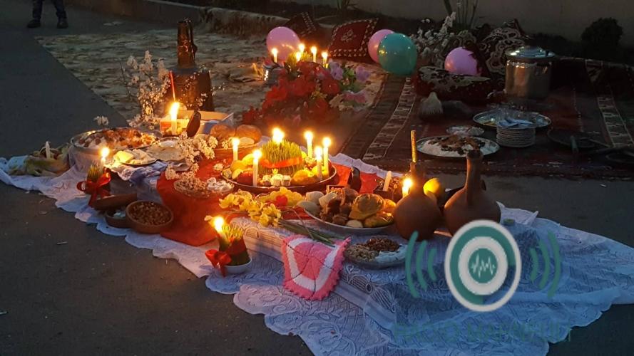 ცეცხლის ჩერშენბე სოფელ ალგეთში (2019 წელი)