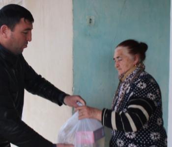 Meriya Kürtlər ərazi vahidliyində yaşayan 71 ailəyə ərzaq yardımı edib (VİDEO)